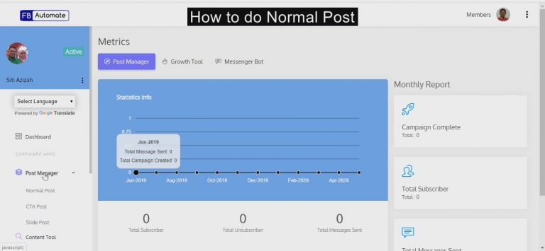 How to automate Facebook posts